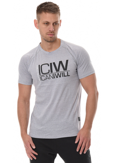 ICANIWILL Tri-blend T-Shirt Men - Grå