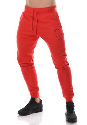Jogger Sweat Pants - Red