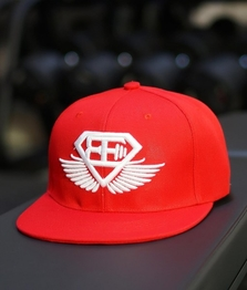 BE Snapback - Red/White