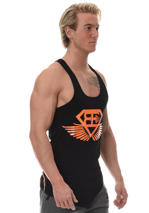 XA1 Stringer - Black/Orange