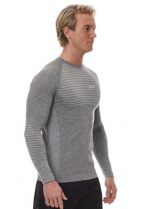 ICIW Seamless Long Sleeve -  Grey/White