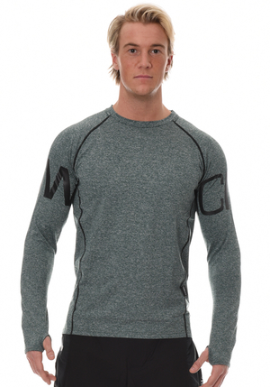 ICIW Seamless Long Sleeve -  Green