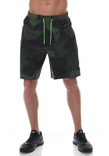 ICANIWILL Shorts Men - Dark Green Camo