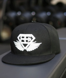 BE Snapback - Black/White