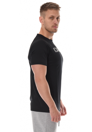 ICANIWILL Mesh T-Shirt Men - Black