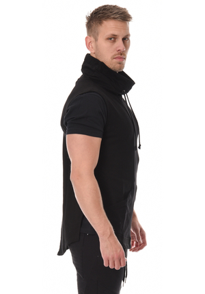 NERI Sleeveless Vest - Black