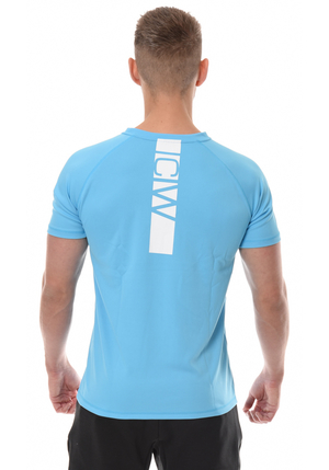 ICANIWILL Mesh T-Shirt Men - Blue