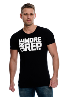 One More Rep T-Shirt - Black