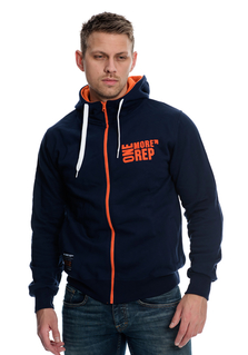 One More Rep Hoodie - Navy