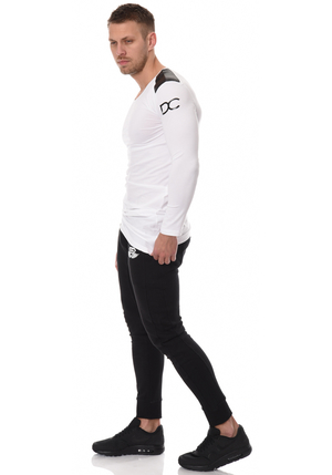 DC Enigma Long Sleeve - White