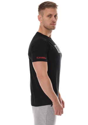 ICANIWILL Tri-blend T-Shirt Men - Black